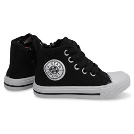 Sort High Children's Sneakers Y1312 Black