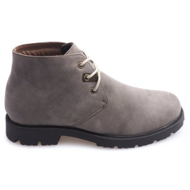 High Casual Shoes Bundet 81909 Taupe