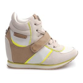 Brun Moderigtige Sneakers JT4 Beige