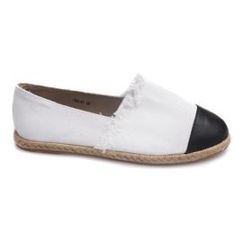 Sort Sneakers Espadrilles Linen 760 Hvid