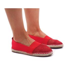 Rød Sneakers Espadrilles, openwork 188-38 Red