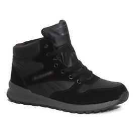 Sort Isolerede Snow Boots H1738B Black