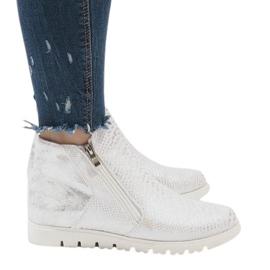 Grå Sølv sports støvler GF-A596