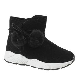 Sorte støvler på GF-ZM93 sportssål