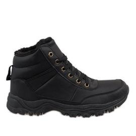 Sort isolerede sne støvler GT-9578