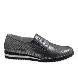Grå lace-up sko TL-33
