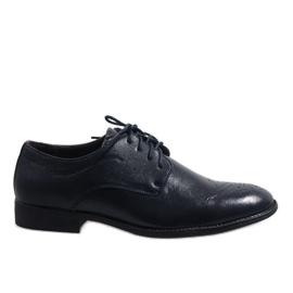 Navy Mørkeblå elegante sko D181502B