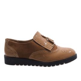 Brun Camel jazz støvler suede sko TL-63