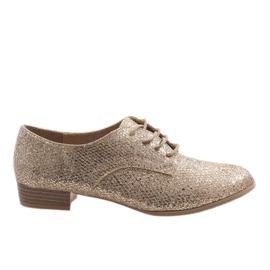 Guld blonde sko G086