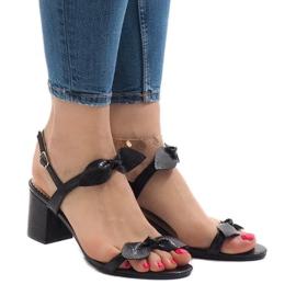 Sorte høje hæle 173-852