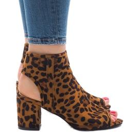 Leopard sandaler med C-7226 øvre