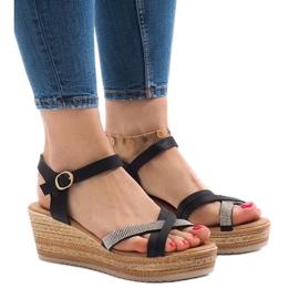 Sort sandaler på WS8816 platformen