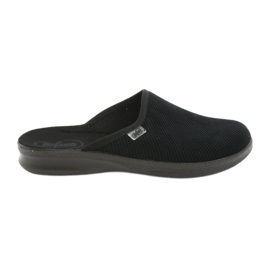 Sort Befado mænds sko pu 548M020