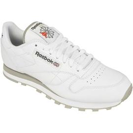 Hvid Reebok Classic Læder M 2214 sko