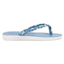 Seastar Blå vævede flip-flops
