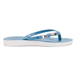 Seastar blå Flip-flops med bue
