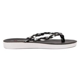 Seastar Sort flettet flip-flops
