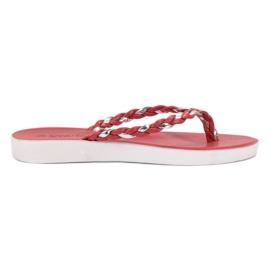 Seastar Røde Vævede Flip-flops