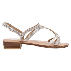 SHELOVET Sandaler i hæle grå