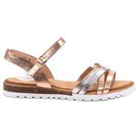 Bestelle gul Casual Sandals