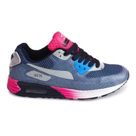 Sports Sneakers B49-6 Blue