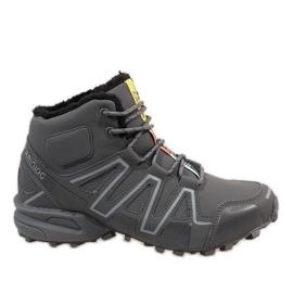 Grå isolerede sne støvler BN8810