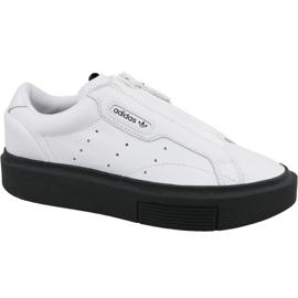 Adidas Slank Super Zip W EF1899 sko hvid