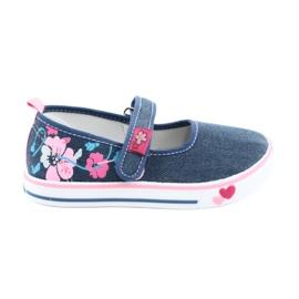 American Club blå Sneakers sneakers med velcro TEN15
