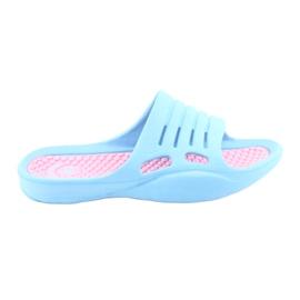 Skum flip-flops til American Club blå vand