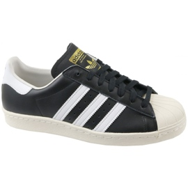 Sort Adidas Superstar 80S M G61069 sko