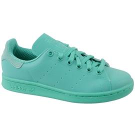 Blå Adidas Stan Smith Adicolor Sko W S80250