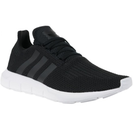 Sort Adidas Swift Run M B37726 sko