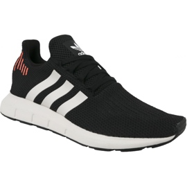 Sort Adidas Swift Run M B37730 sko