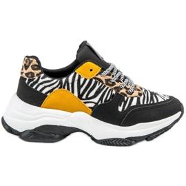 SHELOVET Animal Print sneakers