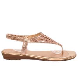 Flip-flops, pink M03 Champagne