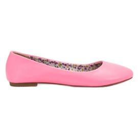 SHELOVET Casual Ballerina pink