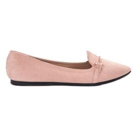 SHELOVET pink Ballerina i Spitz