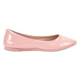 SHELOVET Lakeret Ballerina pink