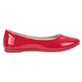 SHELOVET Lakeret Ballerina rød