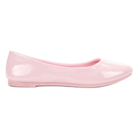 Pink Lakeret VICES ballerinas