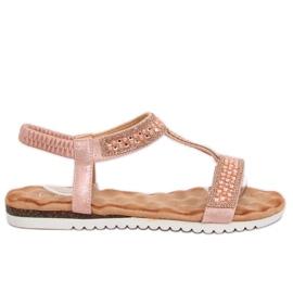 Kvinders sandaler pink HT-67 Pink