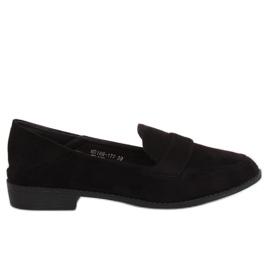Kvinders loafers sort MB188-117 Black