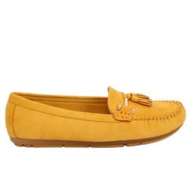 Loafers gul L7183 Gul