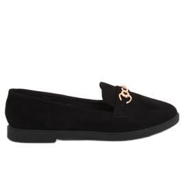 Kvinders loafers sort 1631-123 Sort