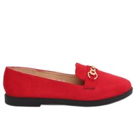 Kvinders loafers rød 1631-123 Red