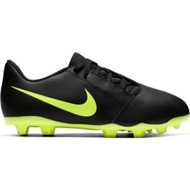 Nike Phantom Venom Club Fg Jr AO0396 007 fodboldsko sort