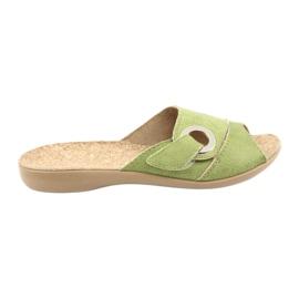 Befado kvinders sko pu 265D008 grøn