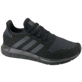 Sort Adidas Swift Run Jr CM7919 sko