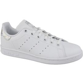 Hvid Adidas Stan Smith Jr EE8483 sko