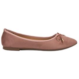 Clowse Ballerina i Spitz pink